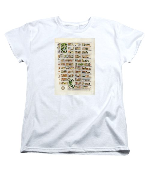From Union Square To Madison Square Women's T-Shirt (Standard Cut) by AFineLyne
