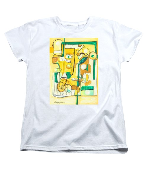 From Within 10 Women's T-Shirt (Standard Cut) by Stephen Lucas