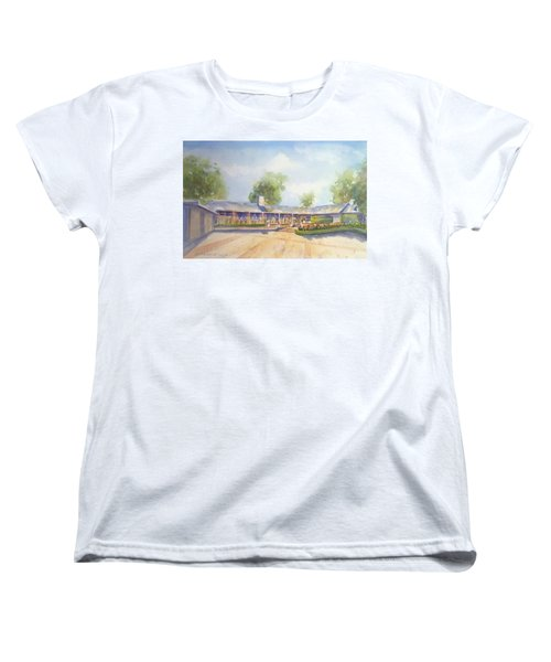 Front Of Home Women's T-Shirt (Standard Cut) by Debbie Lewis