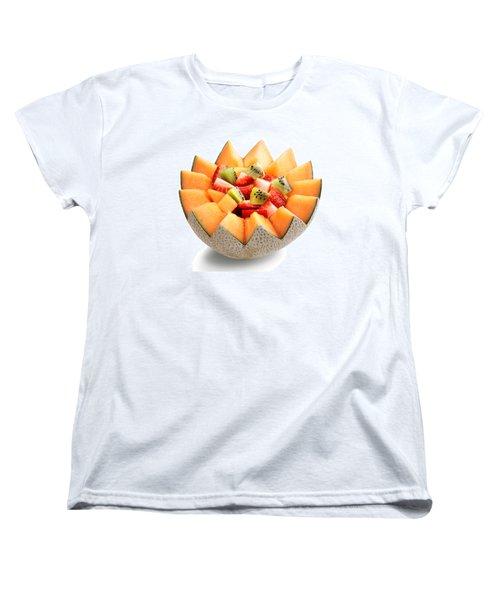 Fruit Salad Women's T-Shirt (Standard Cut) by Johan Swanepoel