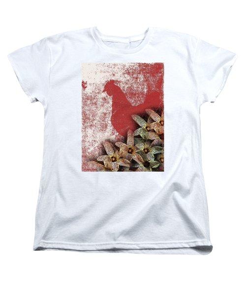 Garden Rooster Women's T-Shirt (Standard Cut)