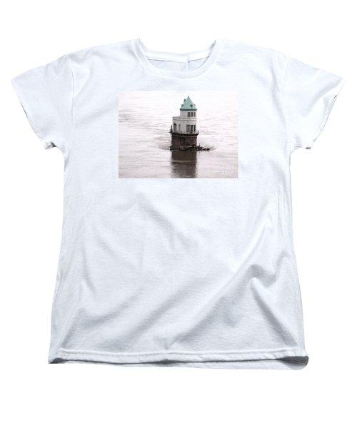 Ghost In The Window Women's T-Shirt (Standard Cut) by Kelly Awad