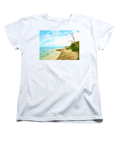 Women's T-Shirt (Standard Cut) featuring the photograph Ghost Tree by Amar Sheow