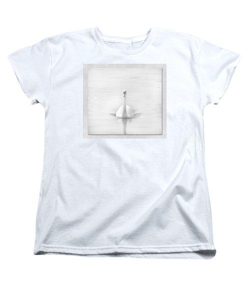 Ghostly White Women's T-Shirt (Standard Cut) by Lynn Bolt