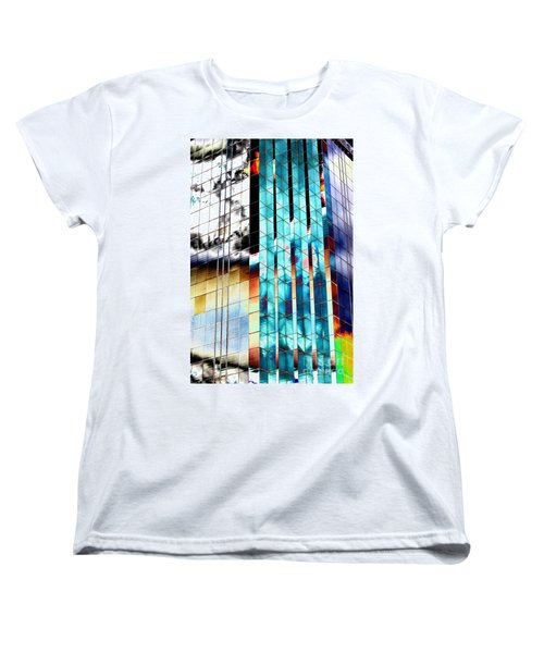 Women's T-Shirt (Standard Cut) featuring the photograph Glass House by Christiane Hellner-OBrien