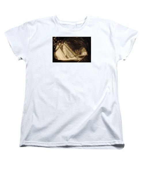 Glory Rays Women's T-Shirt (Standard Cut) by Priscilla Burgers