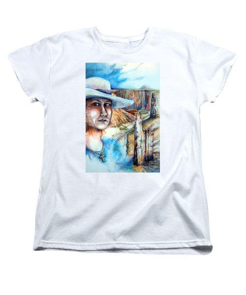 God Women's T-Shirt (Standard Cut) by Linda Shackelford