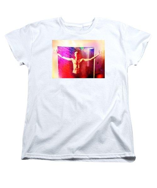 God Strong Women's T-Shirt (Standard Cut) by Michael  TMAD Finney
