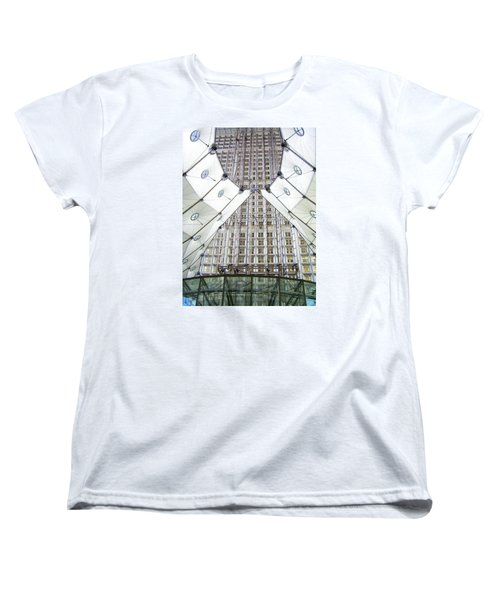 Grand Arche  Women's T-Shirt (Standard Cut) by Oleg Zavarzin