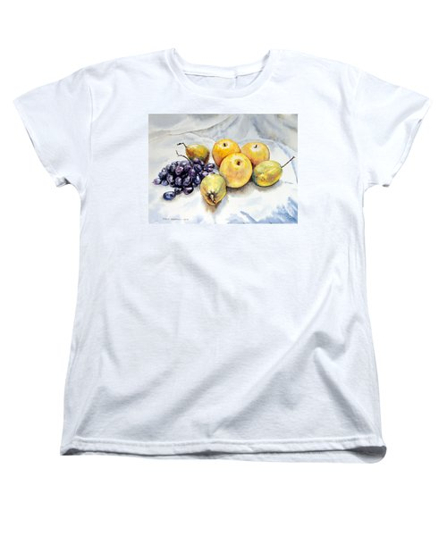 Grapes And Pears Women's T-Shirt (Standard Cut)