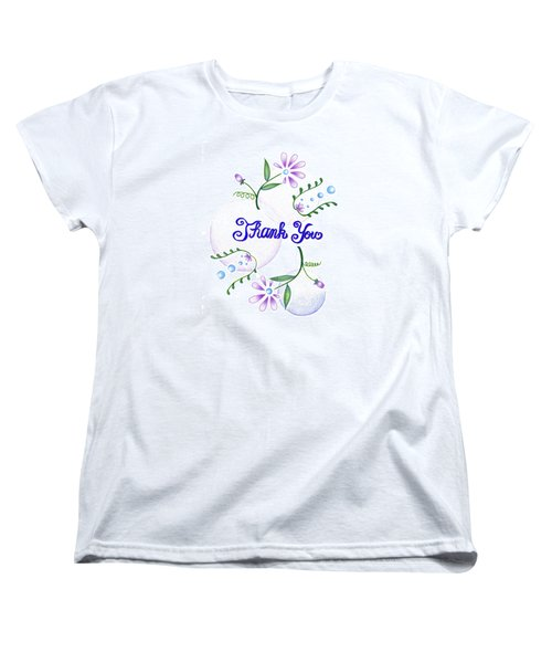Gratitude Women's T-Shirt (Standard Cut) by Keiko Katsuta