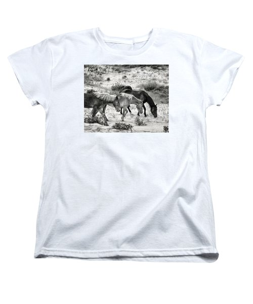 Grazing Women's T-Shirt (Standard Cut) by William Beuther