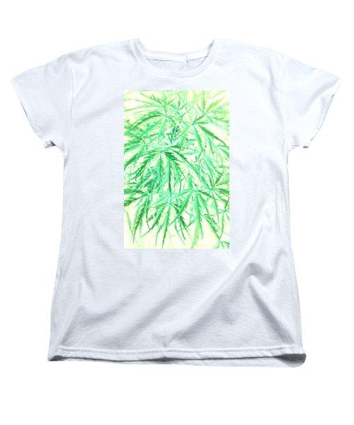Women's T-Shirt (Standard Cut) featuring the photograph Green Splender by Jamie Lynn