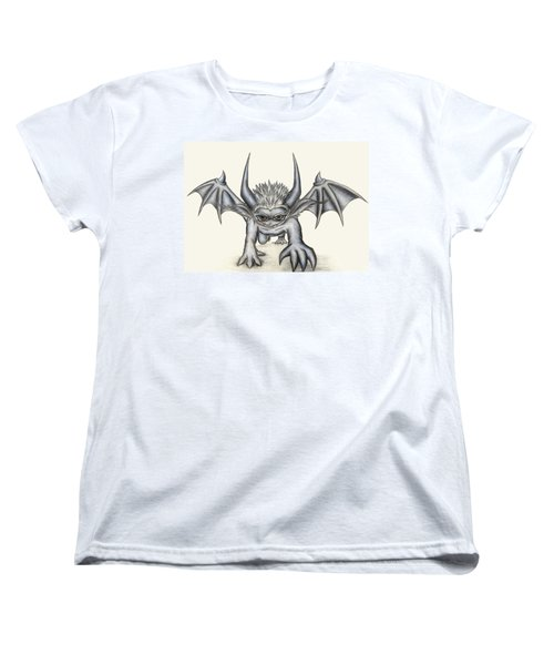 Women's T-Shirt (Standard Cut) featuring the painting Grevil by Shawn Dall