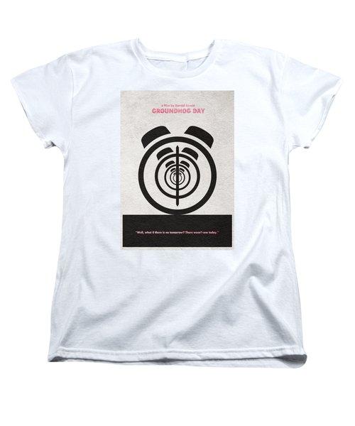 Groundhog Day Women's T-Shirt (Standard Cut) by Ayse Deniz