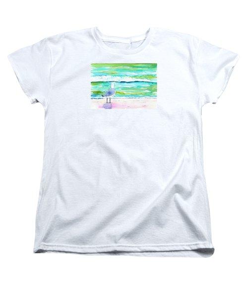 Gull Women's T-Shirt (Standard Cut) by Anne Marie Brown