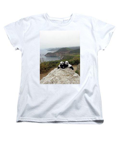 Women's T-Shirt (Standard Cut) featuring the photograph Hang On- You Got A Friend by Ausra Huntington nee Paulauskaite