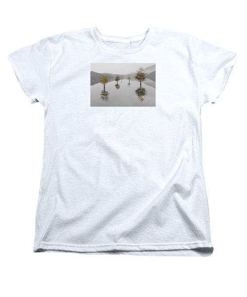 Hanging Garden Women's T-Shirt (Standard Cut) by Debra and Dave Vanderlaan