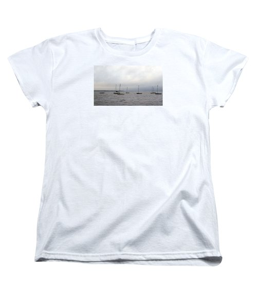 Women's T-Shirt (Standard Cut) featuring the photograph Harbor by David Jackson