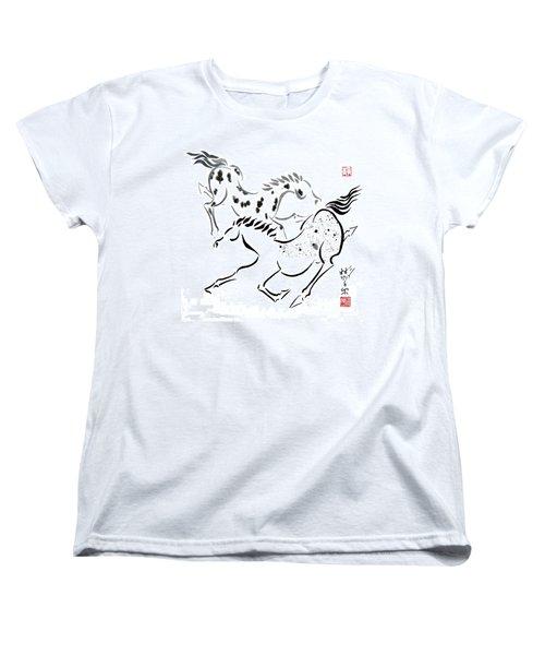 Harmony Women's T-Shirt (Standard Cut) by Bill Searle