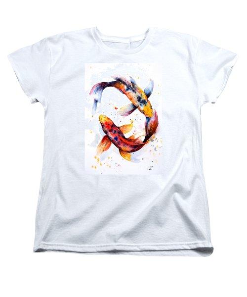 Harmony Women's T-Shirt (Standard Cut) by Zaira Dzhaubaeva