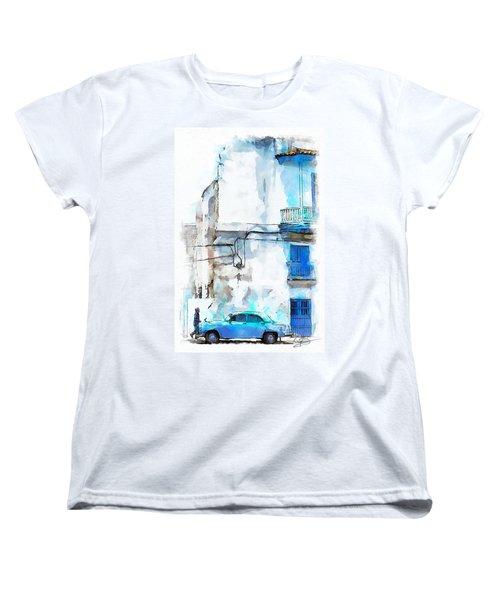 Havana Street Women's T-Shirt (Standard Cut) by Greg Collins