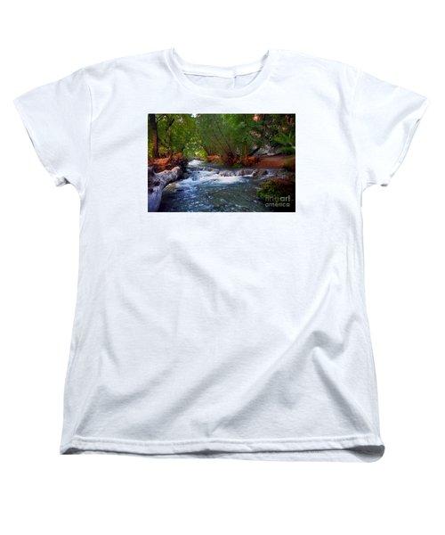 Havasu Creek Women's T-Shirt (Standard Cut) by Kathy McClure