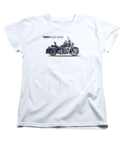 H D Road King Women's T-Shirt (Standard Cut) by Daniel Hagerman