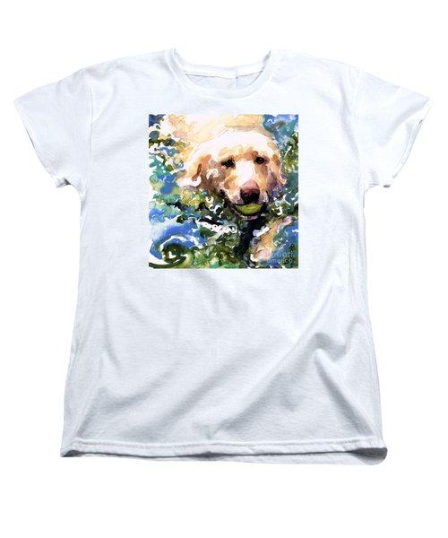 Head Above Water Women's T-Shirt (Standard Cut) by Molly Poole