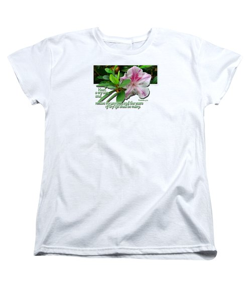 Women's T-Shirt (Standard Cut) featuring the photograph Hear And Receive by Larry Bishop