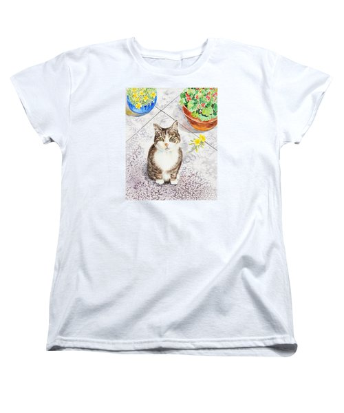 Here Kitty Kitty Kitty Women's T-Shirt (Standard Fit)