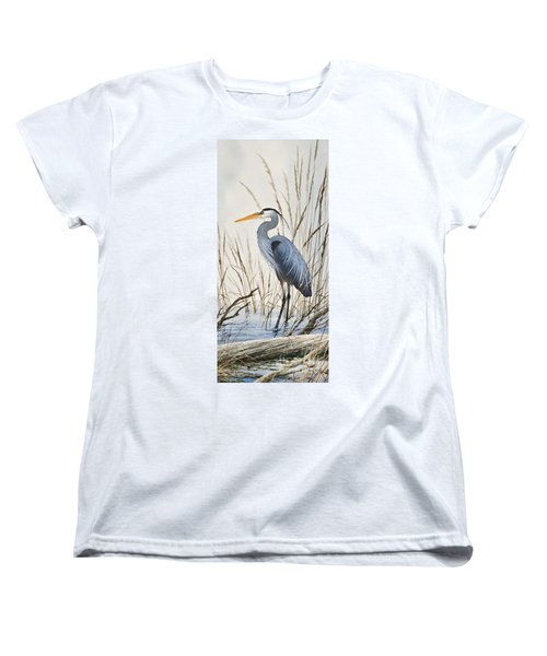 Herons Natural World Women's T-Shirt (Standard Cut) by James Williamson