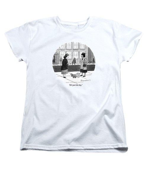 He's Part Bok Choy Women's T-Shirt (Standard Cut) by Danny Shanahan