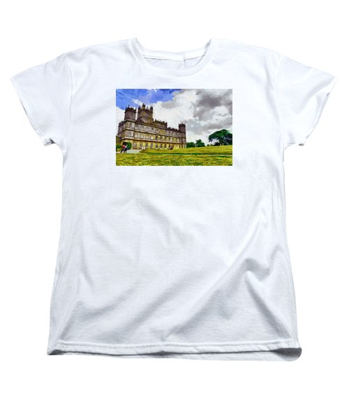 Highclere Castle Women's T-Shirt (Standard Cut) by Georgi Dimitrov