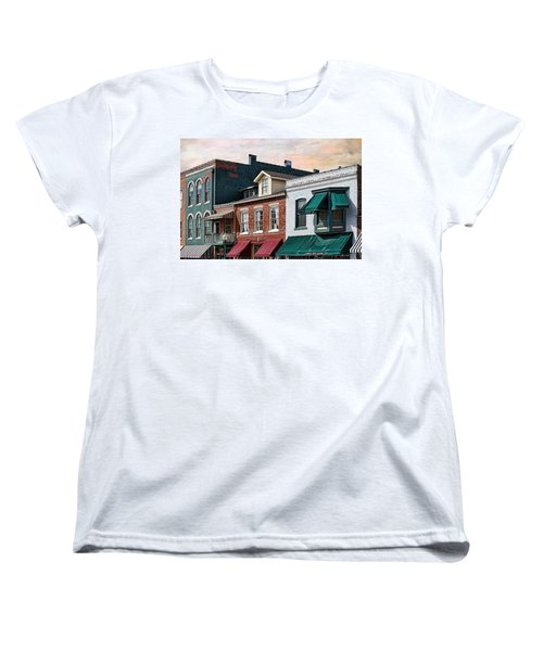 Historic Weston Women's T-Shirt (Standard Cut) by Liane Wright