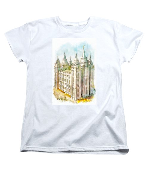 Holiness To The Lord Women's T-Shirt (Standard Cut) by Greg Collins
