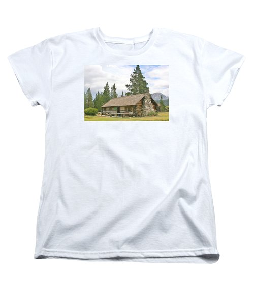 Women's T-Shirt (Standard Cut) featuring the photograph Homesteaded by Marilyn Diaz