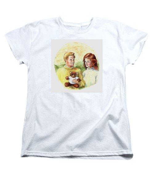 Honey Bear Women's T-Shirt (Standard Cut) by Duane R Probus