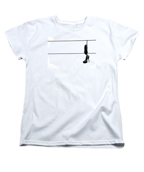 Hooked And Booked  Women's T-Shirt (Standard Cut) by Jerry Cordeiro
