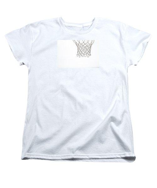 Hoops Women's T-Shirt (Standard Cut) by Karol Livote