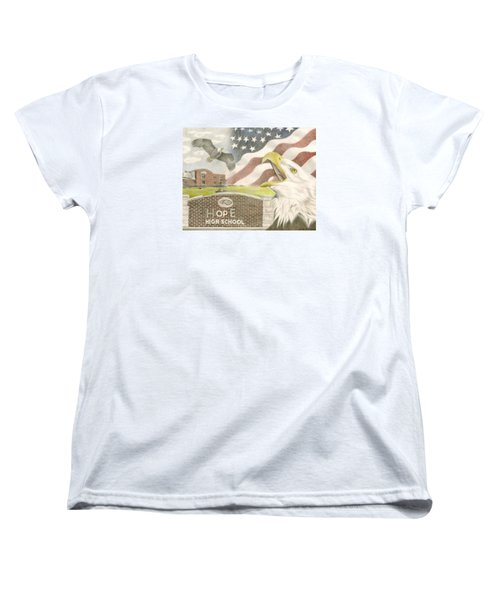 Hope High School Women's T-Shirt (Standard Cut) by Dustin Miller