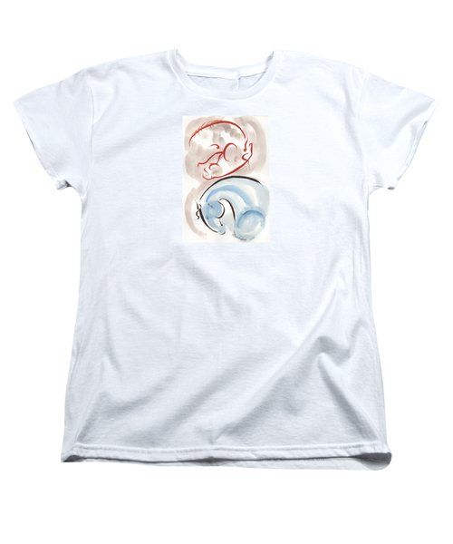 Horse In Simplicity Women's T-Shirt (Standard Cut) by Mary Armstrong