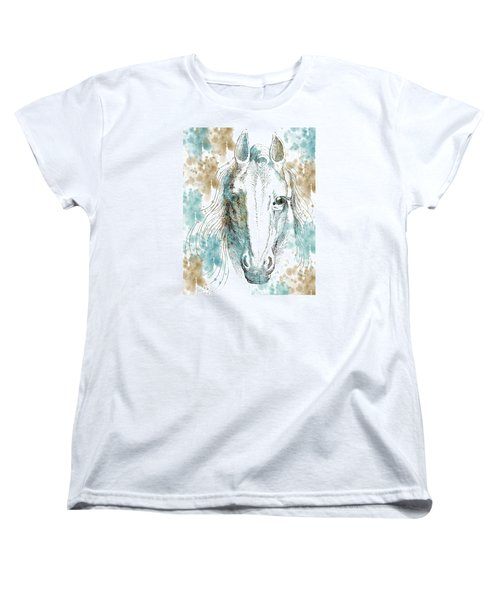 Horse Women's T-Shirt (Standard Cut) by P S