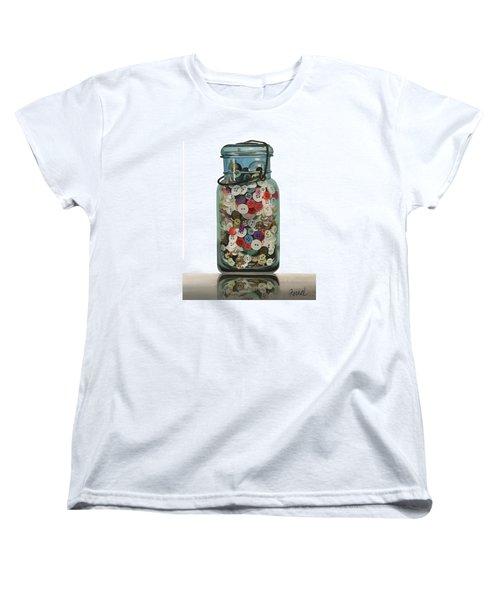 Hot Buttons Women's T-Shirt (Standard Cut) by Ferrel Cordle