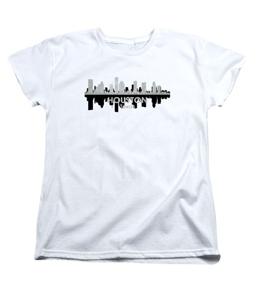 Houston Tx 4 Women's T-Shirt (Standard Cut) by Angelina Vick