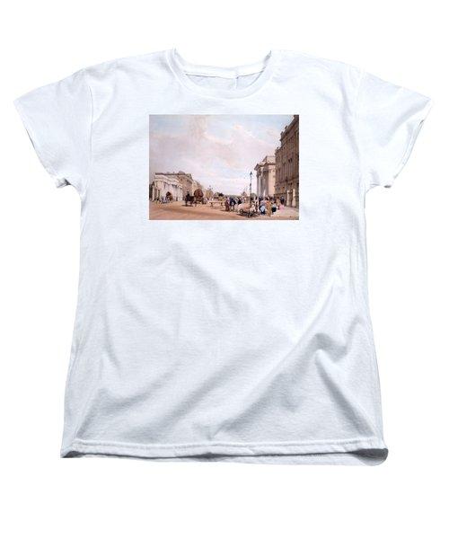 Hyde Park Corner, Looking Women's T-Shirt (Standard Cut)
