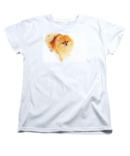 I Am Here I Women's T-Shirt (Standard Cut) by Jenny Rainbow
