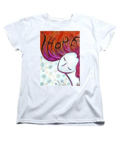 I Hope Women's T-Shirt (Standard Cut) by Gioia Albano