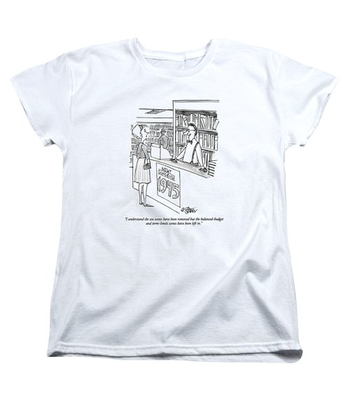 I Understand The Sex Scenes Have Been Removed But Women's T-Shirt (Standard Cut) by Peter Steiner