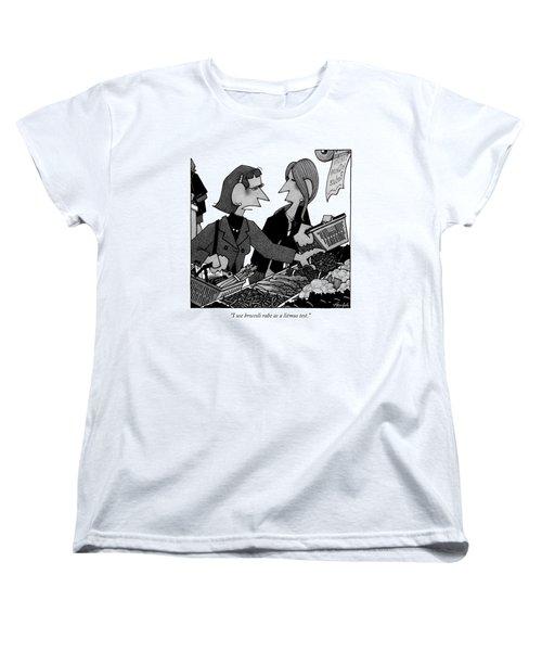 I Use Broccoli Rabe As A Litmus Test Women's T-Shirt (Standard Cut) by William Haefeli